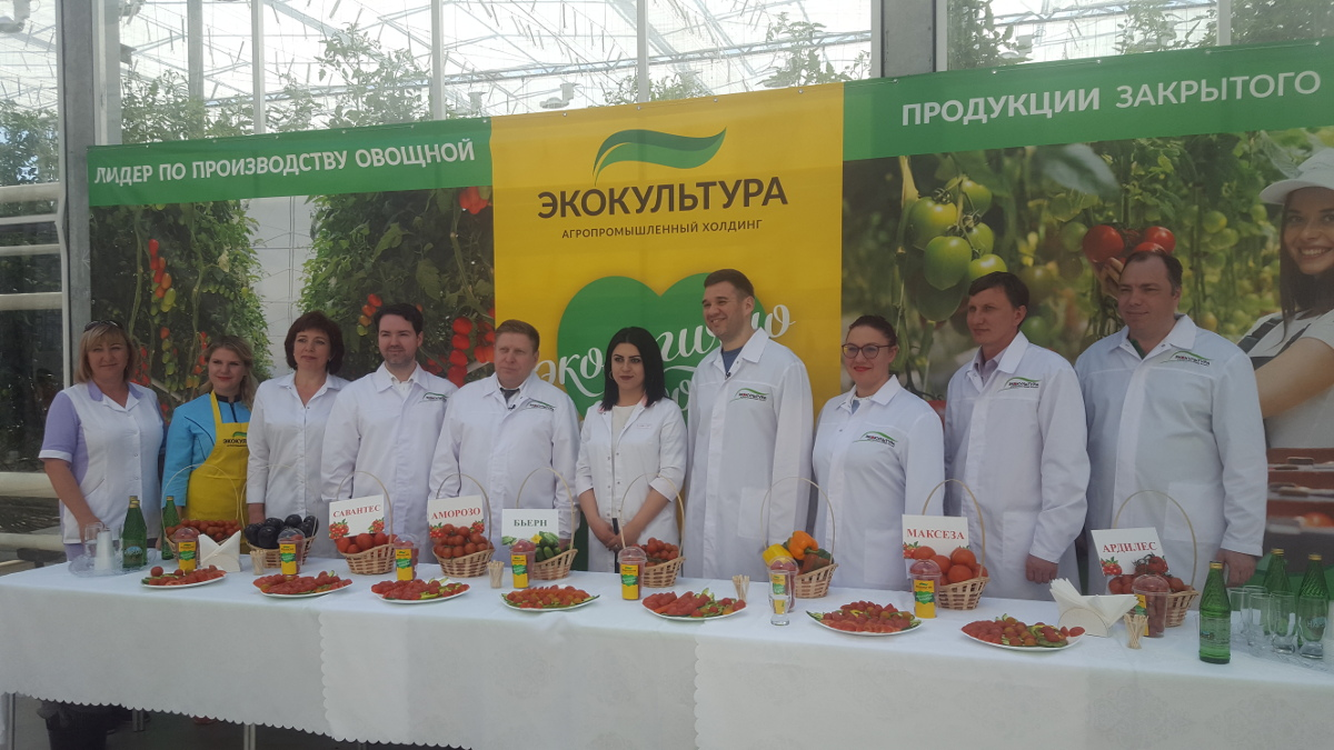 Vesti FM spoke on Solnechnyi Dar greenhouse complex