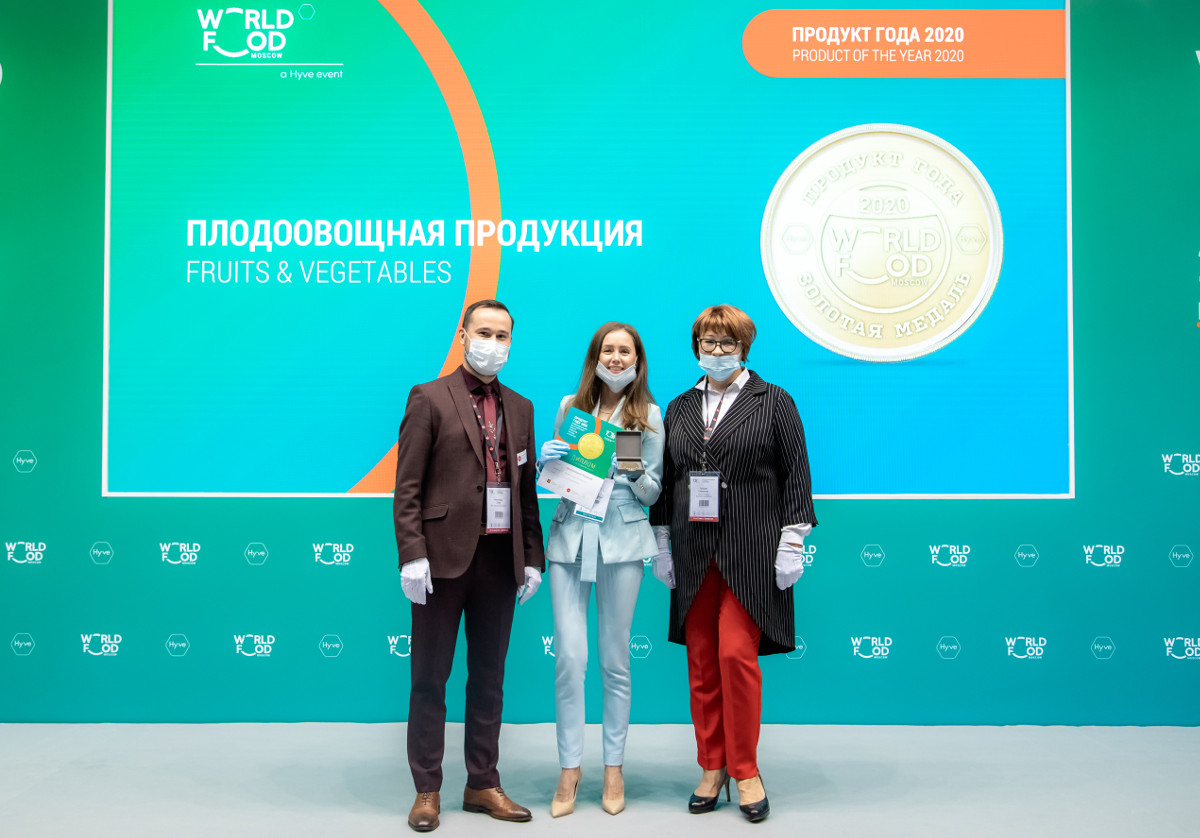 ECO-Culture's frillice won a medal at the international exhibition