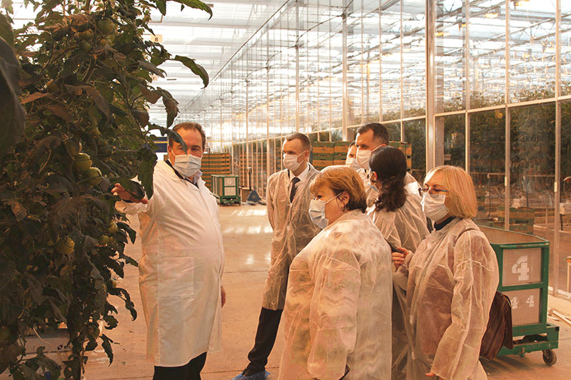 The deputies of Tula Oblast Duma commended the results of ECO-Culture greenhouse complex performance