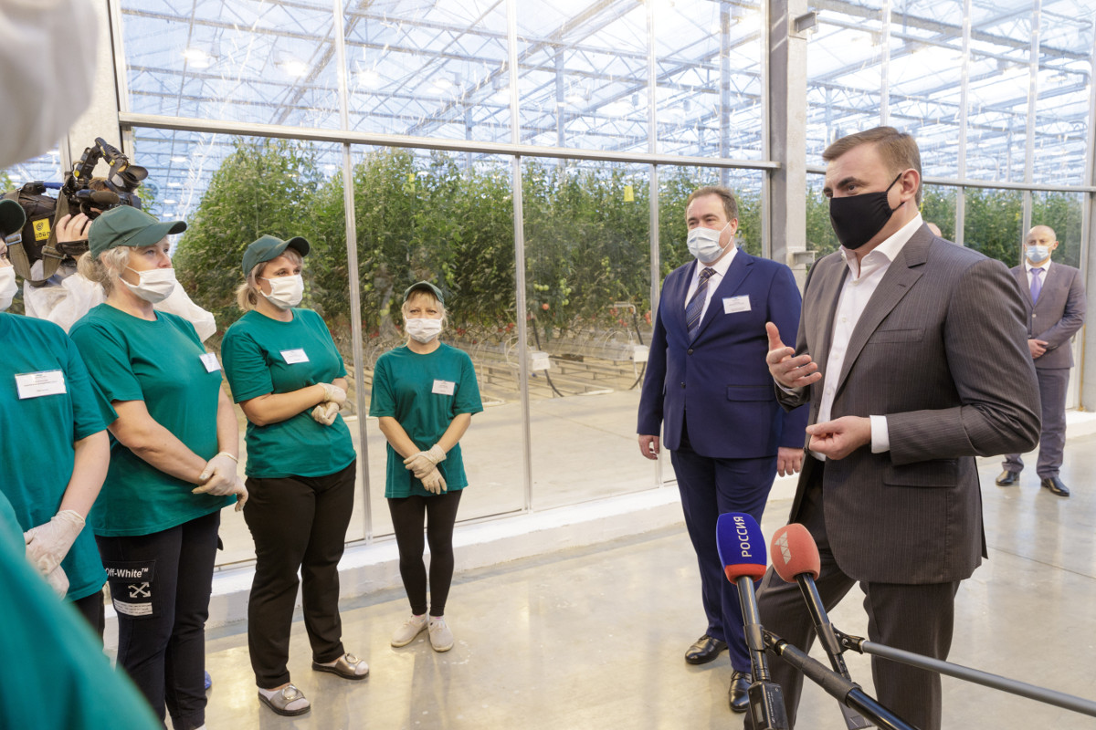 The 2nd stage of the Tulsky greenhouses is now under construction in Tula Oblast