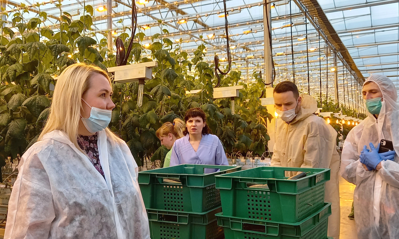 Representatives of ECO-Culture company and the Procurement Department of the Pyaterochka retail chain held a joint field session